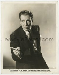 6h245 CRIME SCHOOL 8x10.25 still 1938 great portrait of Humphrey Bogart trying to help Dead End Kids!