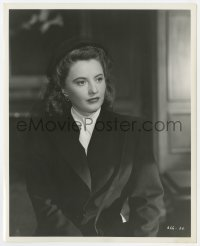 6h249 CRY WOLF 8.25x10 still 1947 waist-high close up of puzzled Barbara Stanwyck by Mac Julian!