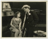 6h255 DANGEROUS CURVES 8x9.75 still 1929 Richard Arlen has a condescending chat with Clara Bow!