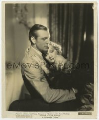 6h268 DESIRE 8.25x10 still 1936 romantic close up Gary Cooper & Marlene Dietrich embracing!