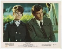 6h063 HOW TO STEAL A MILLION color 8x10 still 1966 c/u of Audrey Hepburn sitting with Peter O'Toole!