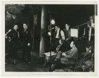 6h794 RUMBA candid 8x10.25 still 1935 director Marion Gering filming Carole Lombard & George Raft!
