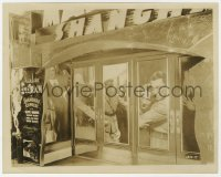 6h814 SHANGHAI EXPRESS candid 8x10 still 1932 incredible image of elaborate theater front display!