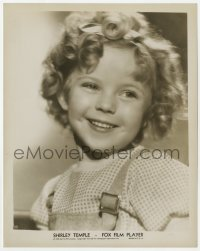 6h818 SHIRLEY TEMPLE 8x10 still 1934 head & shoulders smiling portrait of the child star!