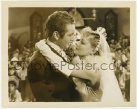 6h821 SHOW BOAT 8x10.25 still 1936 Allan Jones & Irene Dunne about to kiss at their wedding!
