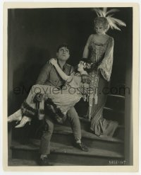 6h831 SOCIAL BUCCANEER 8x10 still 1923 woman watches Jack Mulhall carry Margaret Livingston!
