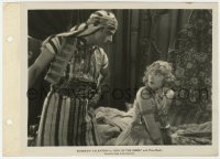 6h840 SON OF THE SHEIK 8x11 key book still 1926 great close up of Rudolph Valentino & Vilma Banky!
