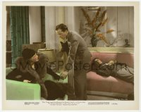 6h076 STAND-IN color-glos 8x10 still 1937 Alan Mowbray watches Humphrey Bogart & Marla Shelton!