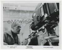 6h931 TRISTANA candid 8.25x10 still 1970 close up of director Luis Bunuel behind the camera!