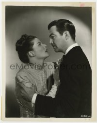 6h938 UNDERCURRENT 8x10.25 still 1946 close up of Robert Taylor holding scared Katharine Hepburn!