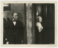 6h943 VAMPIRE BAT 8.25x10 still 1933 Lionel Atwill lies in wait for unsuspecting Fay Wray!