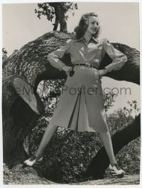 6h951 VIRGINIA GREY deluxe 7.5x10 still 1940 modeling playtime outfit after The Captain is a Lady!