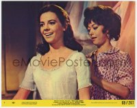 6h078 WEST SIDE STORY color 8x10 still #7 R1968 great close up of Natalie Wood & Rita Moreno!
