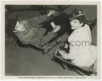 6h970 WHEN THE DALTONS RODE candid 8x10 still 1940 Kay Francis & Broderick Crawford by Gordon Head!
