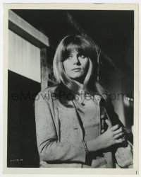 6h972 WHERE THE SPIES ARE 8x10.25 still 1965 close up of beautiful French Francoise Dorleac!