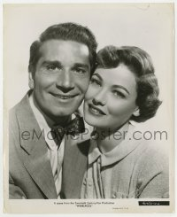 6h974 WHIRLPOOL 8.25x10 still 1950 best portrait of beautiful Gene Tierney & Richard Conte!