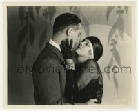 6h982 WOLF OF WALL STREET 8.25x10 still 1929 romantic c/u of Olga Baclanova & Lukas by Richee!