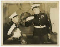 6h988 WOMEN OF ALL NATIONS 8x10.25 still 1931 Victor McLaglen glares at Humphrey Bogart & Lowe!