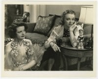 6h989 WOMEN OF GLAMOUR 8x10 still 1937 sexy Pert Kelton & sad Virginia Bruce by Bert Anderson!