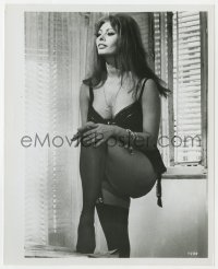 6h995 YESTERDAY, TODAY & TOMORROW 8.25x10 still 1964 sexy Sophia Loren in skimpy lingerie, De Sica