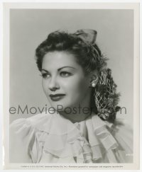 6h999 YVONNE DE CARLO 8.25x10 still 1947 head & shoulders portrait of the Universal leading lady!