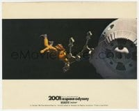6h018 2001: A SPACE ODYSSEY Cinerama color English FOH LC 1968 Kubrick, astronaut in space!