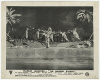 6h033 BAMBOO BLONDE English FOH LC 1946 sexy Frances Langford in tropical island musical number!