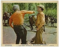 6h025 MAIL ORDER BRIDE color English FOH LC 1964 Buddy Ebsen punching Warren Oates, West of Montana!