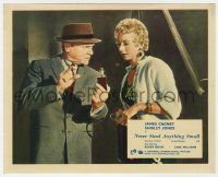 6h027 NEVER STEAL ANYTHING SMALL color English FOH LC 1959 James Cagney with bottle & Shirley Jones!
