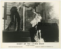 6h039 NIGHT OF THE LIVING DEAD English FOH LC 1968 George Romero classic, Jones burning chair!