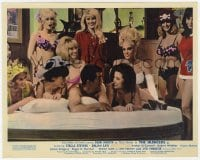 6h030 SILENCERS color English FOH LC 1966 Dean Martin surrounded by sexy half-naked Slaygirls!