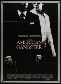 6k533 AMERICAN GANGSTER French 1p 2007 Denzel Washington, Russell Crowe, Ridley Scott directed!