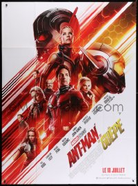6k535 ANT-MAN & THE WASP advance French 1p 2018 Marvel, Paul Rudd, Evangeline Lilly, Michael Douglas