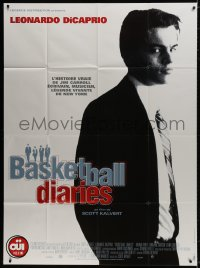 6k550 BASKETBALL DIARIES French 1p 1998 Leonardo DiCaprio, based on the life of Jim Carroll!