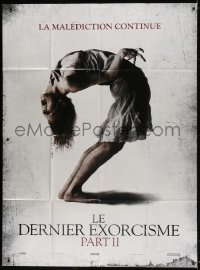 6k762 LAST EXORCISM PART II teaser DS French 1p 2013 creepy demonic possession, the second coming!