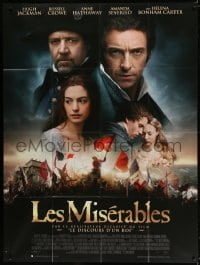 6k769 LES MISERABLES French 1p 2012 Anne Hathaway, Hugh Jackman, Russell Crowe, Amanda Seyfried!