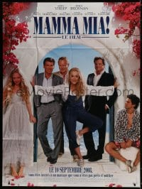 6k796 MAMMA MIA! advance French 1p 2008 Meryl Streep, Pierce Brosnan, Amanda Seyfried!