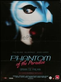 6k845 PHANTOM OF THE PARADISE French 1p R2014 Brian De Palma, he sold his soul for rock & roll!