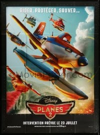 6k850 PLANES: FIRE & RESCUE advance French 1p 2014 Walt Disney CGI aircraft kid's adventure!