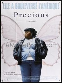 6k858 PRECIOUS French 1p 2010 great image of Gabourey Sidibe with butterfly wings!