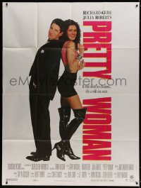 6k860 PRETTY WOMAN French 1p 1990 prostitute Julia Roberts loves wealthy dark-haired Richard Gere!