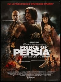 6k862 PRINCE OF PERSIA: THE SANDS OF TIME French 1p 2010 Jake Gyllenhaal, Kingsley, Gemma Arterton!
