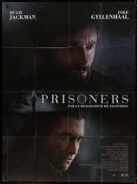 6k864 PRISONERS French 1p 2013 great close images of Hugh Jackman & Jake Gyllenhaal!