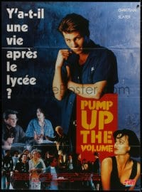 6k869 PUMP UP THE VOLUME French 1p 1990 Christian Slater, Seth Green, Andy Romano, Samantha Mathis