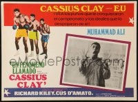6k036 A.K.A. CASSIUS CLAY Mexican LC 1970 heavyweight champion boxer Muhammad Ali yelling!