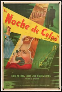 6t380 TAKE MY LIFE linen Argentinean 1949 Greta Gynt betrayed by every move, condemned by every word!