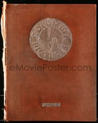 6w104 COLUMBIA PICTURES 1933-34 hardcover campaign book 1933 Frank Capra, filled with wonderful art!