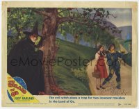 6w101 WIZARD OF OZ signed LC #5 R1949 by BOTH Margaret Hamilton AND Ray Bolger, with Judy Garland!
