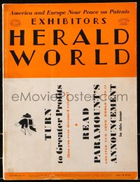 6w127 EXHIBITORS HERALD WORLD exhibitor magazine May 31, 1930 w/ Paramount 1930-31 campaign book!