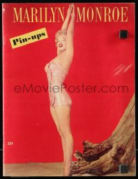 6w132 MARILYN MONROE recalled magazine 1953 too sexy pin-up portraits, some full page & some color!